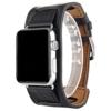 Apple Watch Cuff Band StrapWollpo® Uhrenarmband Leder 42mm - 1