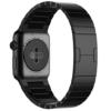 Apple Watch Strap, JETech 42mm Edelstahl Replacement mit Butterfly-Verschluss Wrist Band Uhrenarmband für Apple Watch 42mm Alle Modelle (Schwarz) - 1