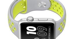 ontube für Apple Watch Band Nike + Serie 1Serie 2, Soft Silikon Sport Armband Ersatz Gurt für iWatch Band M/L Größe -