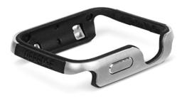 X-Doria Defense Edge Case Cover Schutzhülle für Apple iWatch 38mm - Silber -