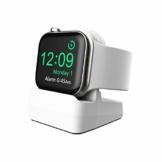 Cozycase Ladestation Ständer kompatibel mit Apple Watch Series SE/Series 6/ Series 5/ Series 4/ Series 3/ Series 2/ Series 1, Halterung Dockingstation für 44mm/ 42mm/ 40mm/ 38mm (Weiß) - 1