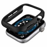 Spigen Thin Fit Kompatibel mit Apple Watch Hülle für 40mm Serie 6/SE/5/4 - Schwarz - 1